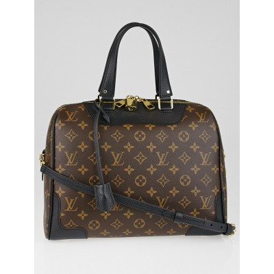 Louis Vuitton Black Monogram Canvas Retiro NM Bag