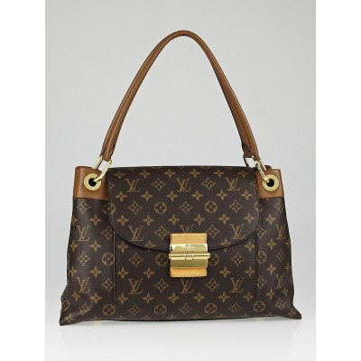 Louis Vuitton Havane Monogram Canvas Olympe Bag