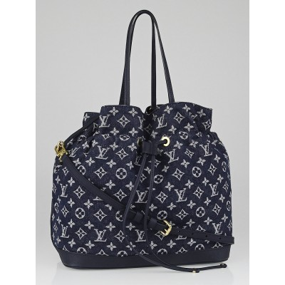 Louis Vuitton Grand Bleu Monogram Denim Noefull MM Bag