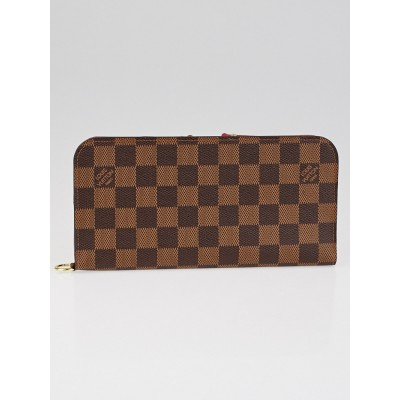 Louis Vuitton Damier Canvas Rouge Insolite Wallet