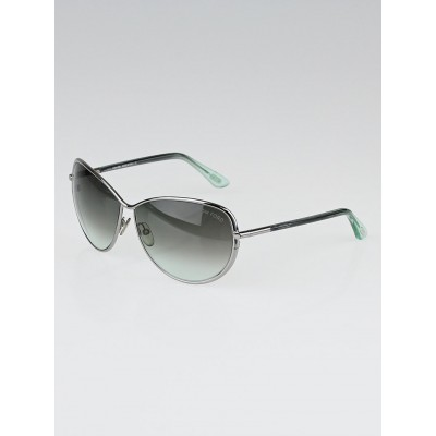 Tom Ford Metal Frame Gradient Tint Francesca Sunglasses-TF181
