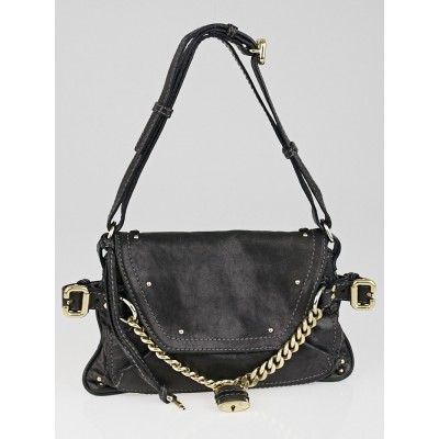 Chloe Black Leather Capsule Paddington Small Shoulder Bag
