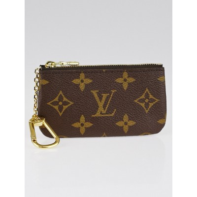Louis Vuitton Monogram Canvas Pochette Cles Key and Change Holder