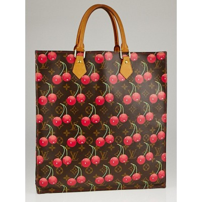 Louis Vuitton Limited Edition Monogram Cerises Sac Plat Bag