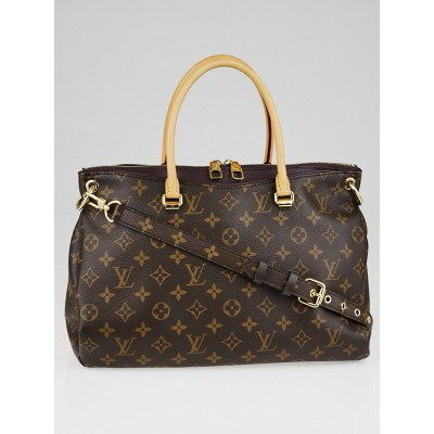 Louis Vuitton Quetsche Monogram Canvas Pallas Bag