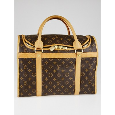Louis Vuitton Monogram Canvas Sac Chien 40 Dog Carrier