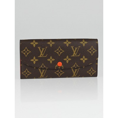 Louis Vuitton Piment Monogram Canvas Emilie Wallet