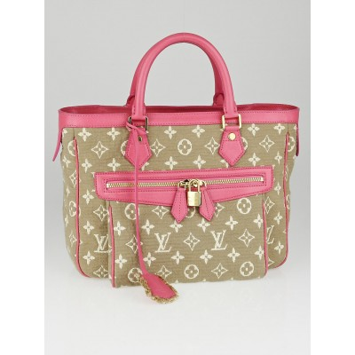 Louis Vuitton Limited Edition Rose Monogram Sabbia Cabas MM Handbag