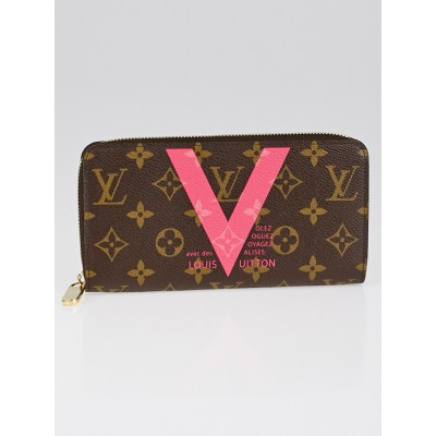 Louis Vuitton Limited Edition Grenade Monogram V Canvas Zippy Wallet