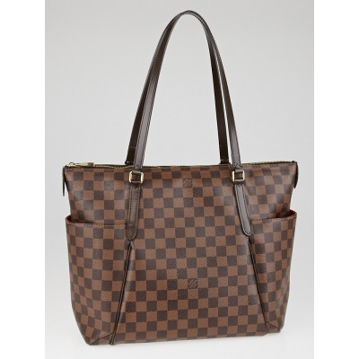 Louis Vuitton Damier Canvas Totally MM NM Bag