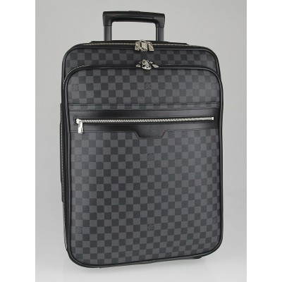 Louis Vuitton Damier Graphite Canvas Pegase 55 Business Suitcase