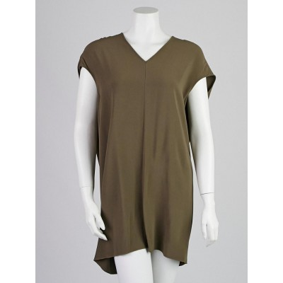 Rick Owens DNA Dust Rayon Blend Floating Tunic Size 6