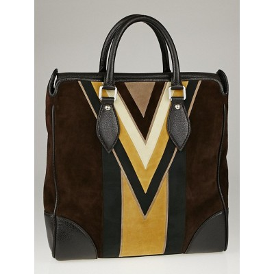 Louis Vuitton Limited Edition Suede Innsbruck Cabas Bag