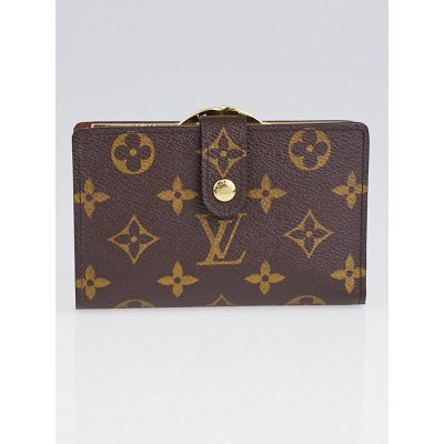 Louis Vuitton Monogram Canvas Port Feuille Vienoise French Purse Wallet