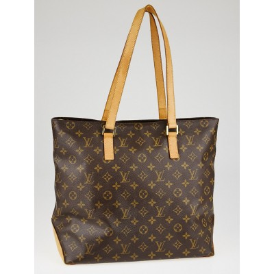 Louis Vuitton Monogram Canvas Mezzo Cabas Bag