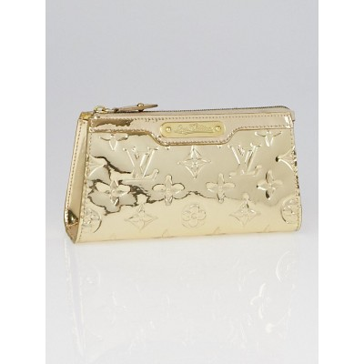 Louis Vuitton Limited Edition Gold Monogram Miroir Cosmetic Pouch