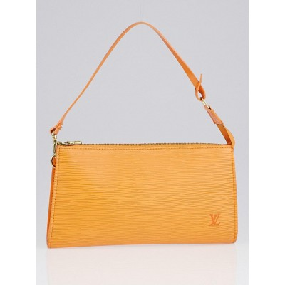 Louis Vuitton Mandarin Epi Leather Accessories Pochette 24 Bag