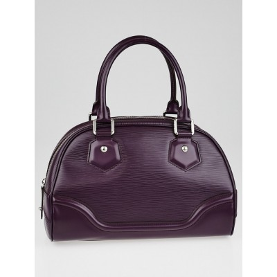 Louis Vuitton Cassis Epi Leather Montaigne PM Bag