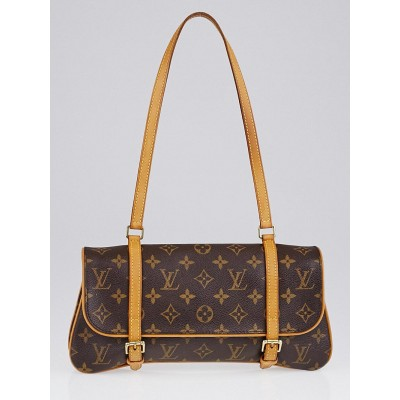 Louis Vuitton Monogram Canvas Marelle MM Bag