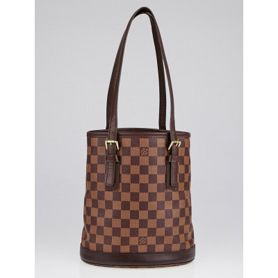 Louis Vuitton Damier Canvas Marais Bucket Bag