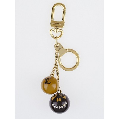 Louis Vuitton Limited Edition Brown Resin Jack and Lucie Key Holder and Bag Charm