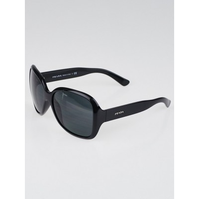 Prada Black Frame Oversized Sunglasses - SPR27M