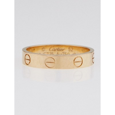 Cartier 18k Rose Gold LOVE Ring Size 52/6