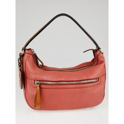 Gucci Dark Pink Leather Medium Madison Hobo Bag