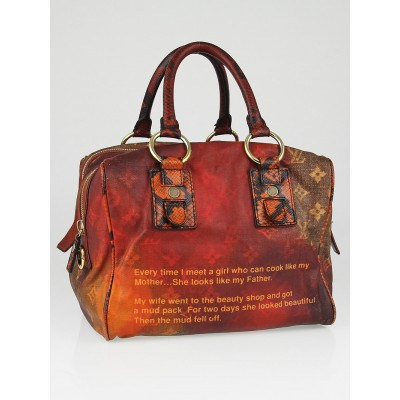Louis Vuitton Limited Edition Richard Prince Mancrazy Jokes Bag
