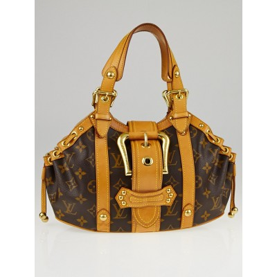 Louis Vuitton Limited Edition Monogram Canvas Theda GM Bag