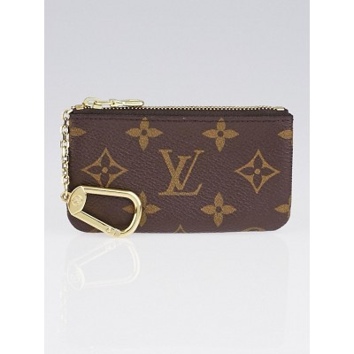 Louis Vuitton Monogram Canvas Pochette Cles and Key Holder
