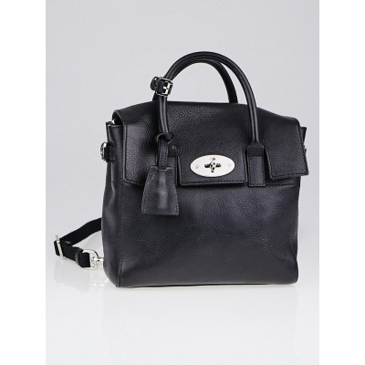 Mulberry Black Natural Leather Mini Cara Delevinge Bag