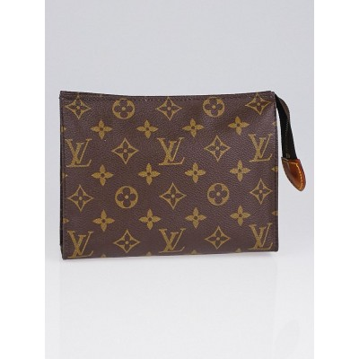 Louis Vuitton Monogram Canvas Poche Toilette 19 Cosmetic Pouch