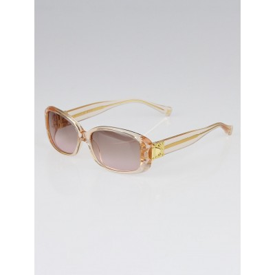 Louis Vuitton Peach Speckling Acetate Frame Sunglasses-Z0122W