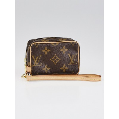Louis Vuitton Monogram Canvas Wapity Case