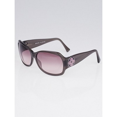 Louis Vuitton Purple Speckling Acetate Frame Ursula Strass Sunglasses