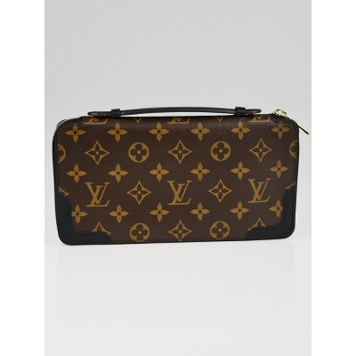 Louis Vuitton Black Monogram Canvas Daily Organizer Wallet