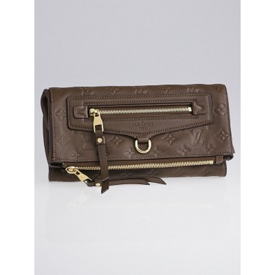 Louis Vuitton Ombre Monogram Empreinte Leather Petillante Clutch Bag