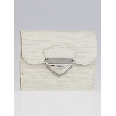 Louis Vuitton White Epi Leather Joey Wallet