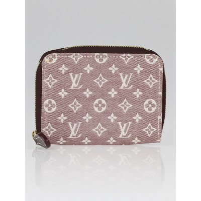 Louis Vuitton Sepia Monogram Idylle Canvas Zippy Coin Purse