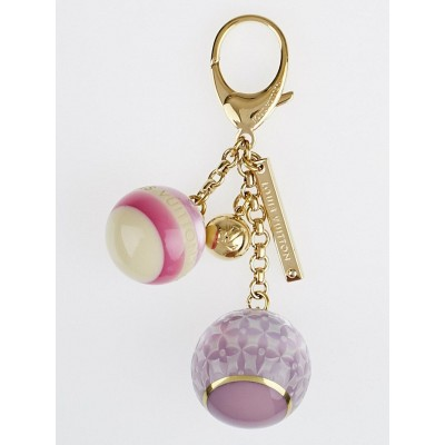 Louis Vuitton Lavender Resin Monogram Mini Lin Key Holder and Bag Charm