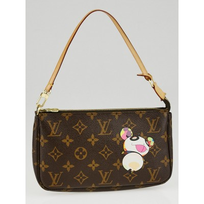 Louis Vuitton Limited Edition Murakami Panda Accessories Pochette Bag