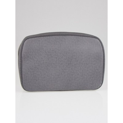 Louis Vuitton Glacier Taiga Leather Toilet Pouch GM