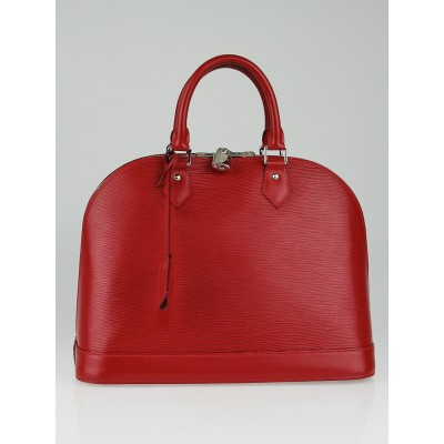 Louis Vuitton Carmin Epi Leather Alma MM Bag