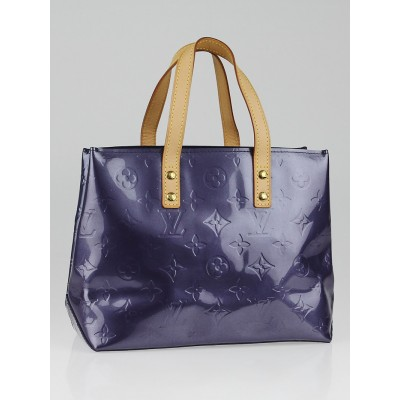 Louis Vuitton Blue Nuit Monogram Vernis Reade PM Bag