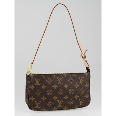 Louis Vuitton Monogram Canvas Accessories Pochette NM Bag