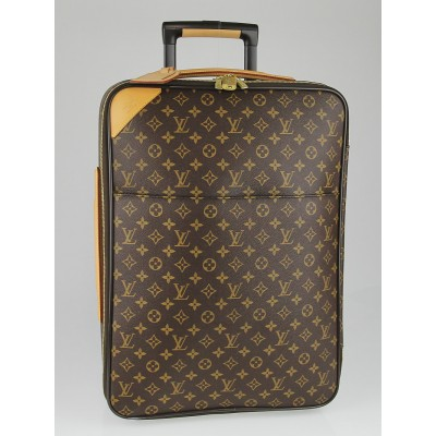 Louis Vuitton Monogram Canvas Pegase Legere 55 Suitcase