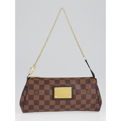 Louis Vuitton Damier Canvas Eva Clutch Bag