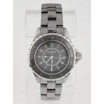 Chanel Titanium J12 Ceramic 33mm Swiss Quartz Watch