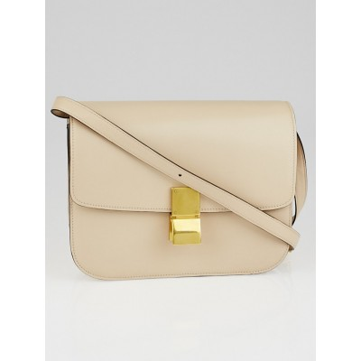 Celine Powder Calf Leather Medium Classic Box Bag